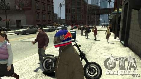 Energy Drink Helmets pour GTA 4 septième écran
