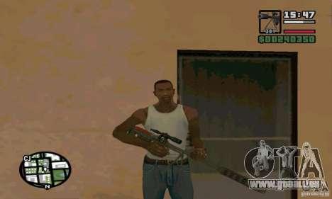 Le KSVK (IOS-98) pour GTA San Andreas deuxième écran
