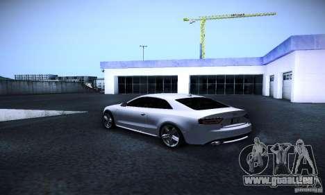 Audi S5 für GTA San Andreas zurück linke Ansicht