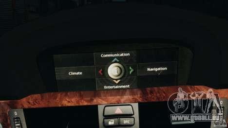 BMW 330i E92 pour GTA 4 est une vue de dessous