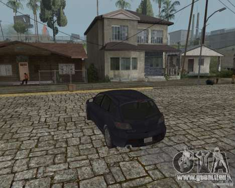 Mazda Speed 3 für GTA San Andreas linke Ansicht