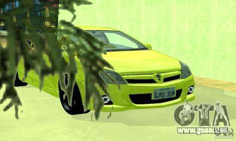 Opel Astra GTS pour GTA San Andreas vue de droite