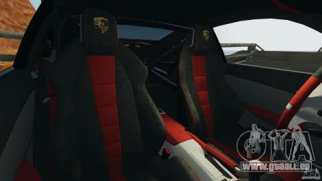 Porsche 911 GT2 RS 2012 v1.0 pour GTA 4 est une vue de l'intérieur