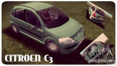 Citroen C3 pour GTA Vice City