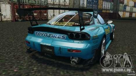 Mazda RX-7 RE-Amemiya v2 für GTA 4 hinten links Ansicht