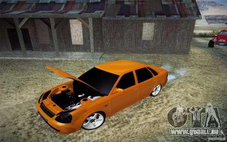 Lada Priora für GTA San Andreas Rückansicht
