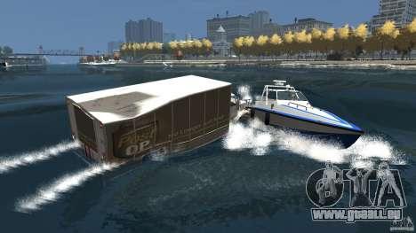 Benson boat für GTA 4 obere Ansicht
