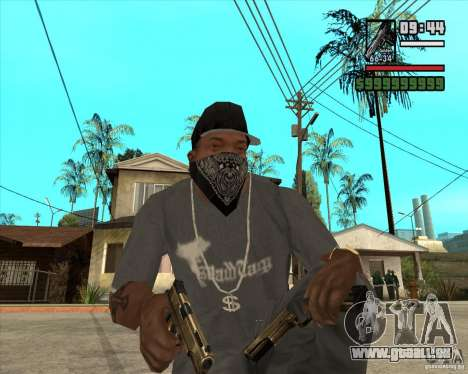 Millenias Weapon Pack für GTA San Andreas zweiten Screenshot