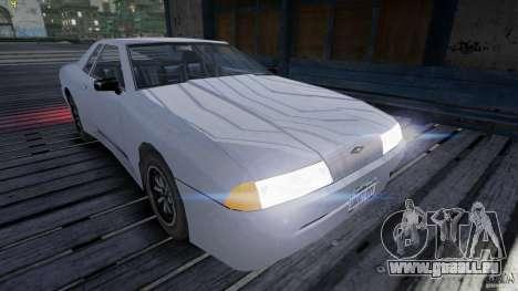 Elegy pour GTA 4 Vue arrière