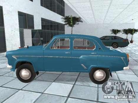 Moskvich 403 für GTA San Andreas linke Ansicht