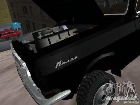 95 VOLGA GAZ-24 pour GTA San Andreas vue intérieure