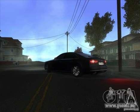 Audi A8 für GTA San Andreas linke Ansicht