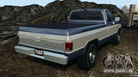 Chevrolet Silverado 1986 für GTA 4 hinten links Ansicht