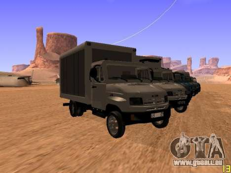 ZIL 5301 Goby pour GTA San Andreas