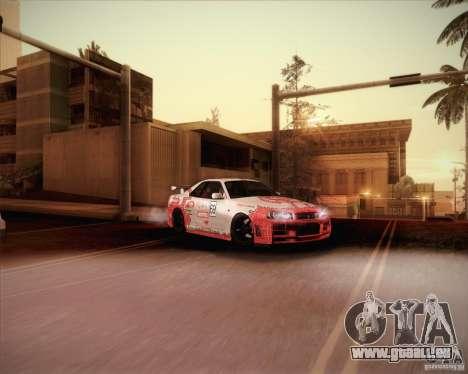 Nissan Skyline Z-Tune v2.0 für GTA San Andreas Innen