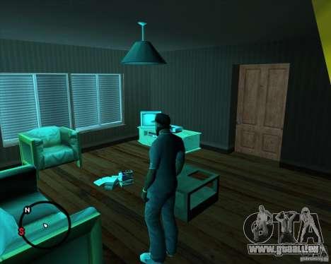 Aller à n'importe quelle maison pour GTA San Andreas deuxième écran