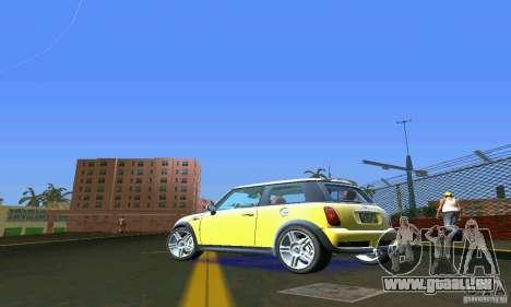 Mini Cooper S für GTA Vice City zurück linke Ansicht