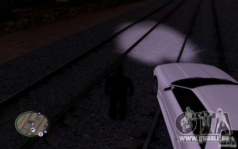 Russische Rails für GTA San Andreas sechsten Screenshot