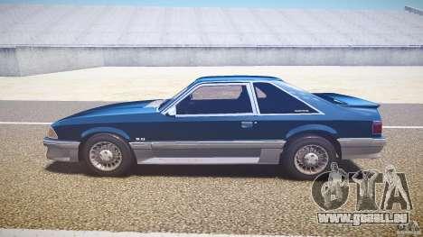 Ford Mustang GT 1993 Rims 1 pour GTA 4 est une gauche