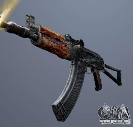 Eine Reihe von Waffen aus einem stalker für GTA San Andreas zehnten Screenshot