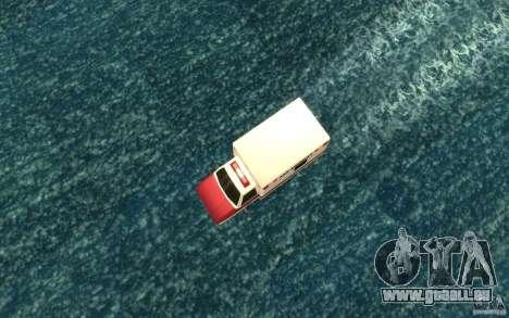 Ambulan boat für GTA San Andreas rechten Ansicht