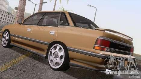 Subaru Legacy RS für GTA San Andreas obere Ansicht