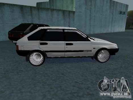 VAZ 2109 tunable für GTA San Andreas