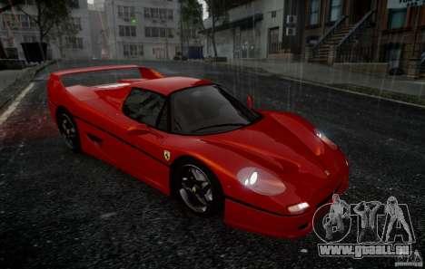 Ferrari F50 1995 pour GTA 4 Vue arrière