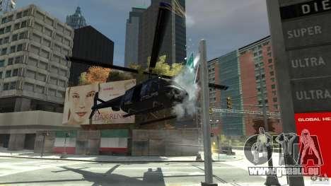 NYC Helitours Texture pour GTA 4 est une vue de l'intérieur