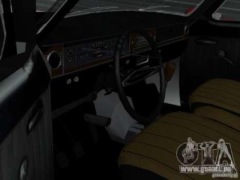 95 VOLGA GAZ-24 pour GTA San Andreas vue arrière