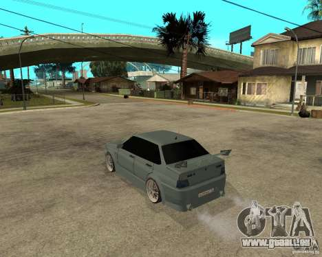 VAZ 2115 TTC Tuning für GTA San Andreas linke Ansicht