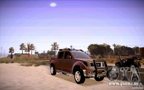 Nissan Fronter pour GTA San Andreas laissé vue
