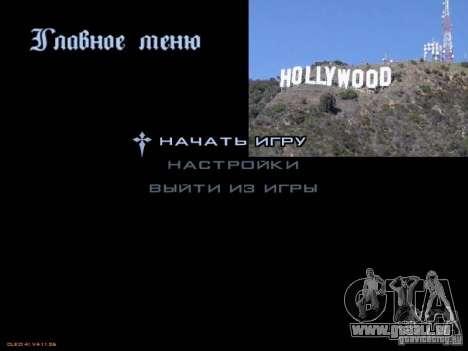 Nouveau menu dans le style de Los Angeles pour GTA San Andreas