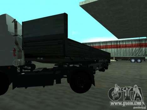 MTM 933001 p/p pour GTA San Andreas sur la vue arrière gauche