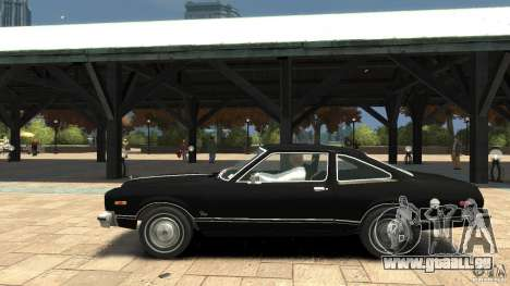 Plymouth Volare Coupe 1977 für GTA 4 linke Ansicht