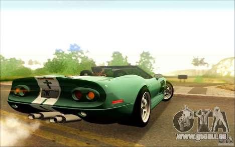 Shelby Series 1 1999 für GTA San Andreas rechten Ansicht
