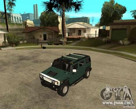 AMG H2 HUMMER SUV pour GTA San Andreas
