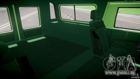 Hummer H1 für GTA 4 Innenansicht