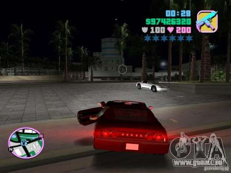 Phobos VT de Gta Liberty City Stories pour une vue GTA Vice City de la droite