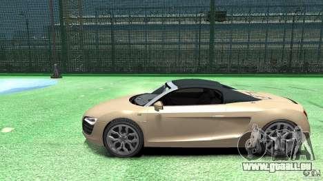Audi R8 Spyder v10 [EPM] pour GTA 4 est une gauche