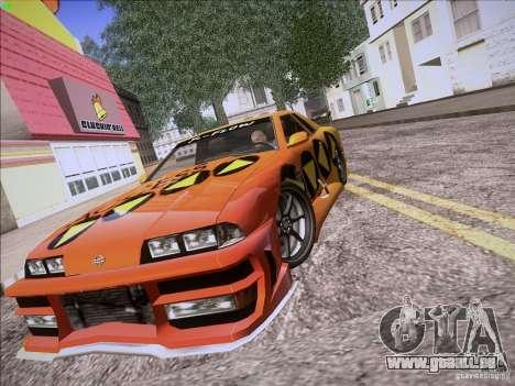 Elegy Cabrio Edition für GTA San Andreas Innenansicht