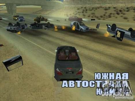 Champ de force pour GTA San Andreas troisième écran