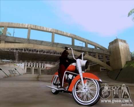 Harley-Davidson FL Duo Glide 1961 (Lowrider) pour GTA San Andreas