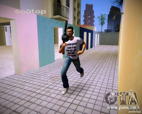 PPSH-41 GTA Vice City pour la troisième écran