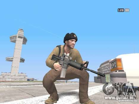 HQ Weapons pack V2.0 für GTA San Andreas her Screenshot