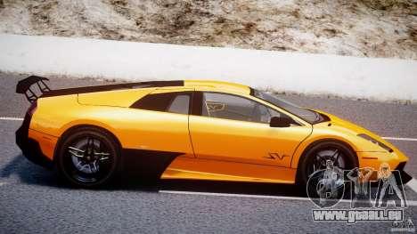 Lamborghini Murcielago LP670-4 SuperVeloce pour GTA 4 est une vue de dessous