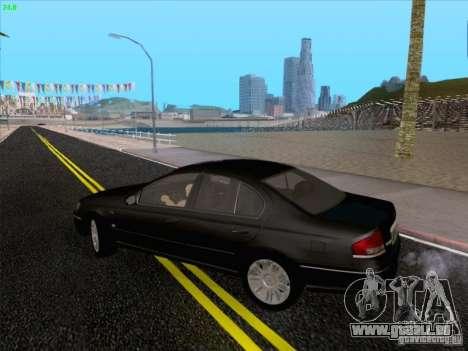 Ford Falcon Fairmont Ghia für GTA San Andreas Seitenansicht
