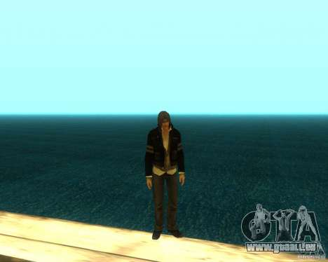 Alex Mercer ORIGINAL für GTA San Andreas fünften Screenshot