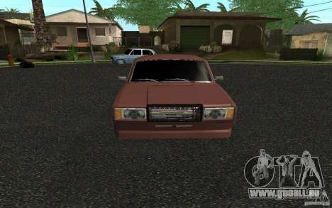 VAZ 2107 Auto Tuning für GTA San Andreas linke Ansicht