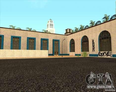 Nouvelle Station de l'unité pour GTA San Andreas deuxième écran